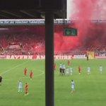 Spielunterbrechung #TSV1860 #FCBayern #Grünwalderstadion http://t.co/uinqWXR3Uw