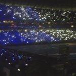 .@Rayados se luce con espectacular ola digital en la #InauguracionRayada #EstadioBBVABancomer http://t.co/DmQmA0qhZq