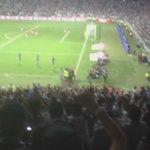 De cabeza César Montes marcó el primer gol en el #EstadioBBVABancomer http://t.co/X2fvTQ2seU