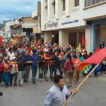 Miles en la marcha por LojA #FueraCorreaFuera http://t.co/zRqpgGEkzx