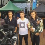 Good Morning @NiallOfficial @Real_Liam_Payne @Louis_Tomlinson and @Harry_Styles! @onedirection #1DonGMA http://t.co/MHRXBZVuqm