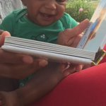 """""""@Abii_Graham: This is priceless ❤️👶🏽 @TheEllenShow http://t.co/FAhqf0NjEG""""i love this video Ian eem go lie"""
