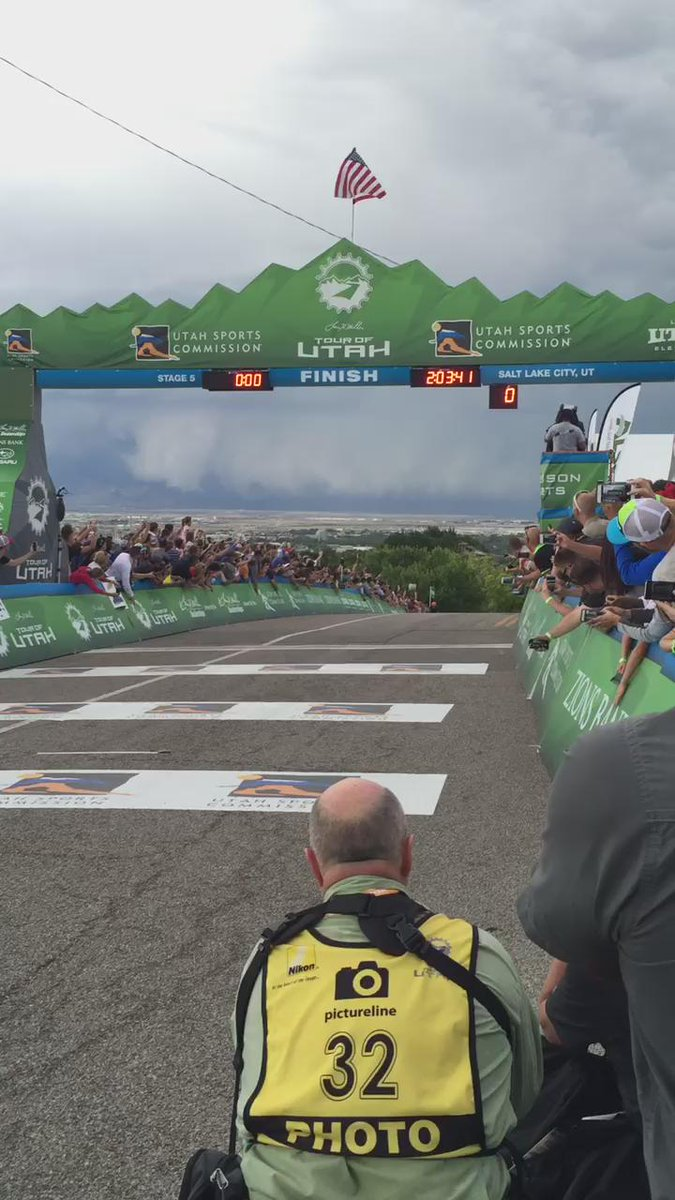 Massive win for @rusty_woods @OPTUMpbKBS #stage5 @TourofUtah @TourTracker http://t.co/aMq1mN2jss