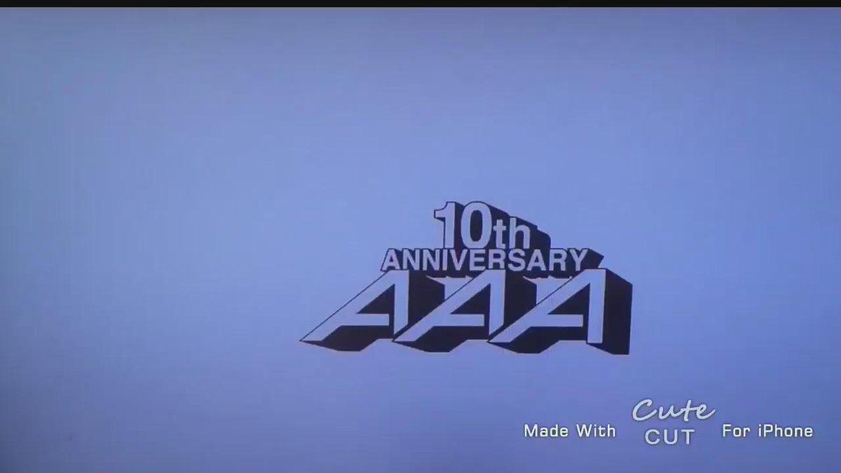 AAA 50thシングル 《 愛してるのに、愛せない 》  泣けてくる最高作品( ᵕ_ᵕ̩̩ ) http://t.co/9AwdHFtZdC  #愛してるのに愛せない #AAA50thSG  #AAA10th #感動したらRT http://t.co/1VITwWANFt