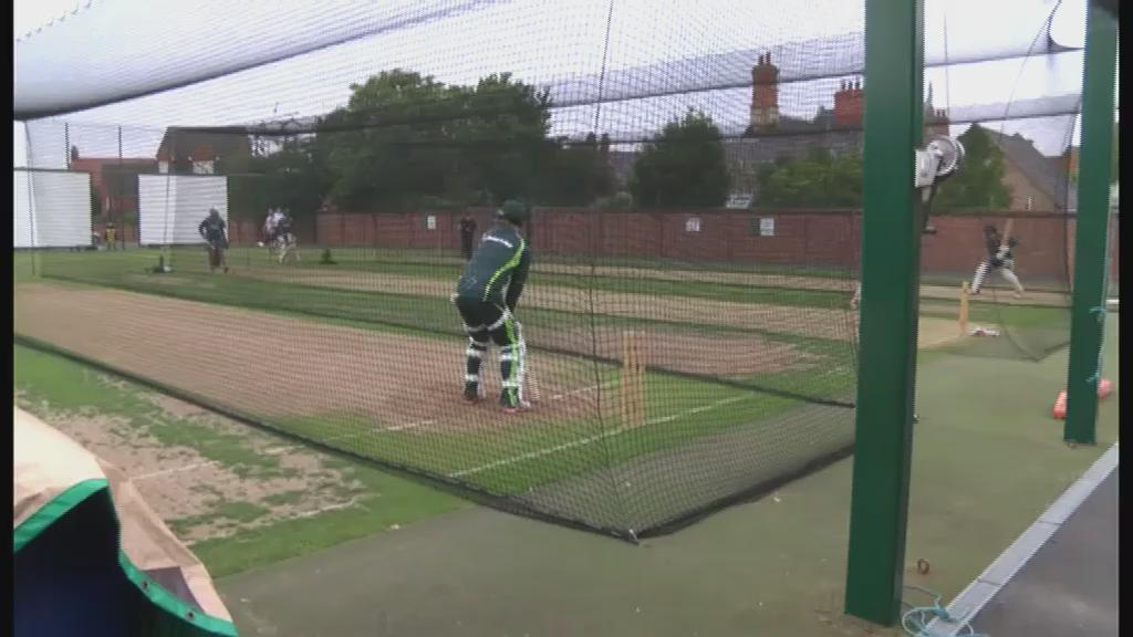 Australia are still getting used to the English conditions ahead of their match against Northants tomorrow #Cricket http://t.co/RU3Lbgbetu