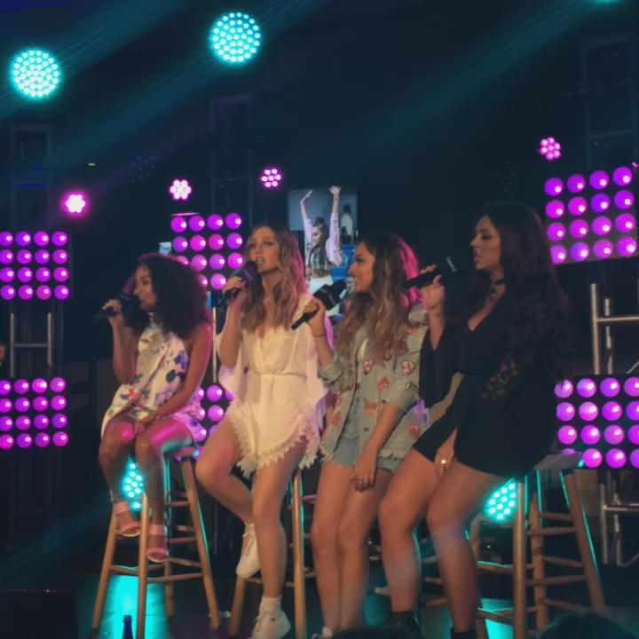 .@LittleMix performing their first single! For the live video check out http://t.co/fDj1GpO7W4 #LittleMixAnniversary http://t.co/XkVFyoAZpU
