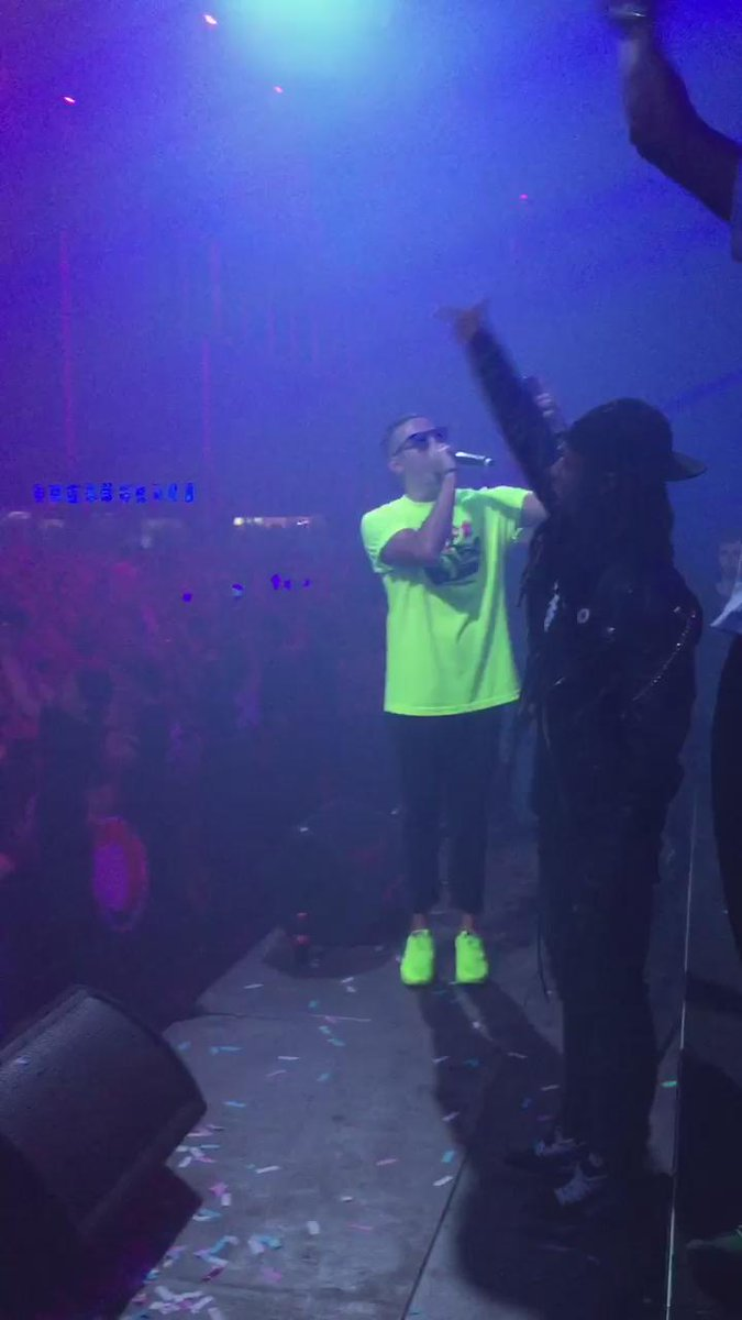 Here's a clip from the @djsnake Mooovie
