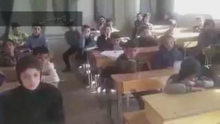 """اول حصة دراسية بسوريا ، تأمل النعمة إلي انت فيها شوي ؟ https://t.co/Q4xMdB8l0N"""""""