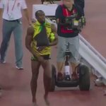 The real question on Usain Bolt being run over: is it really that tiring to walk 20 yds? You need a Segway for that? http://t.co/0gFe50nIh1
