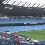 MATCHDAY: The Etihad stadium is ready for #watfordfc v #MCFC. Team news coming shortly! http://t.co/7ZrWEo6chy