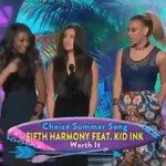 So proud of the girls. Fifth Harmony has come far. ????❤️ @FifthHarmony #WorthItVMA http://t.co/aHfFM5xqmp