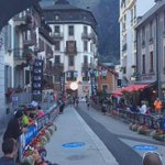 Goosebumps as Doyle_Cat eases into Chamonix with fellow South African Armand du Plesis to finish #UTMB http://t.co/0kTZHP5psP