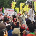 Happening Now in #Tokyo Many 1000s protesting Abes security policies at #Japans parliament @SEALDs_Eng http://t.co/7a1qqPYCGh