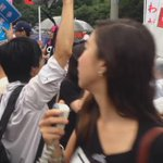 Happening Now in #Tokyo 120,000+ protesting Abes security policies at #Japans parliament @SEALDs_Eng http://t.co/saLXfkMpAU