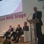 """Sir David Dalton @SalfordRoyalNHS """"exciting times for health care in Manchester"""" #GMDevo @GMHSC_Devo #Expo15NHS http://t.co/6Usvy3vyxq"""