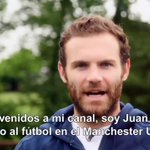 Juan Mata presenting his new YouTube Chanel | #MUFC   You can subscribe here ➡️ http://t.co/WjHCJI691K http://t.co/yzQW4yISQf