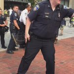 Baltimore. #FreddieGray. Baltimore police just arrested @kwamerose http://t.co/p43ERG0Xml