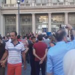 ...and THAT is the response of the #refugees! Germany, Germany #Keleti http://t.co/YjncwOgaWc