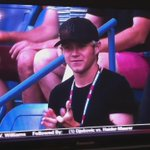 VIDEO    Niall at the U.S. Open today!  (© 1DMofosUpdates)  http://t.co/WQKNfWYQWQ