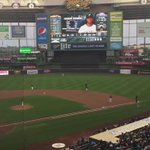 First pitch in Milwaukee: @Pirates-@Brewers, Zach Davies to Gregory Polanco, 8:10 p.m., 86 degrees, cloudy http://t.co/ExQf8dhiJg