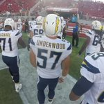 Head in with the team for one last breath before kickoff at #SDvsSF http://t.co/9vAPPTLRKd