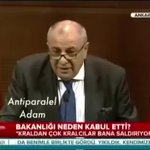 """""""Devlet Bey"""" Duy Duy ????Başbakan Yardımcısı Tuğrul Türkeş, """"Beni eleştirenler 2 sarhoş ve 3-5 çakaldan ibaret"""" dedi. http://t.co/moYspZGQBF"""