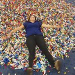 #lego snow angel . @LEGOKidsFest @LEGO_Group #ATX http://t.co/EWn31SFetr