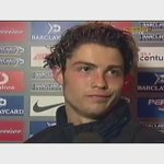 Cristiano Ronaldos first interview as a Manchester United player. (2003)https://t.co/leO4fvLWOF