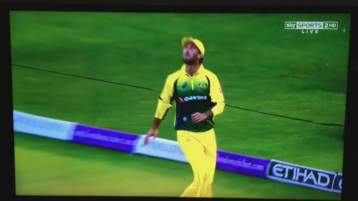 Glenn Maxwell, flipping Physics the bird... #EngvAus http://t.co/TeE93wcaD8