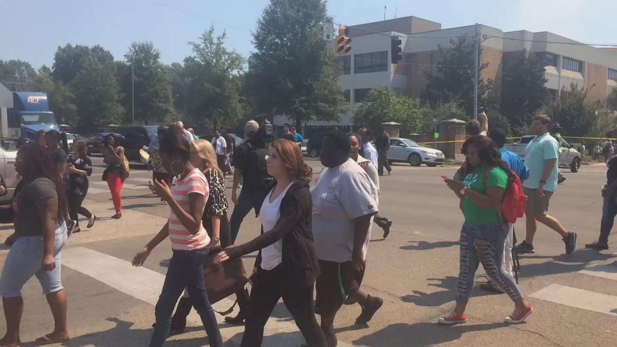 "Dozens of students are being allowed to leave the #DeltaState campus. No official ""all clear"" from DSU yet #msnewsnow http://t.co/4UHmG3HPUV"
