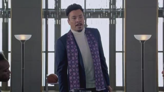 Jimmy Fallon does Lucious Lyons so well. The voice defeats me