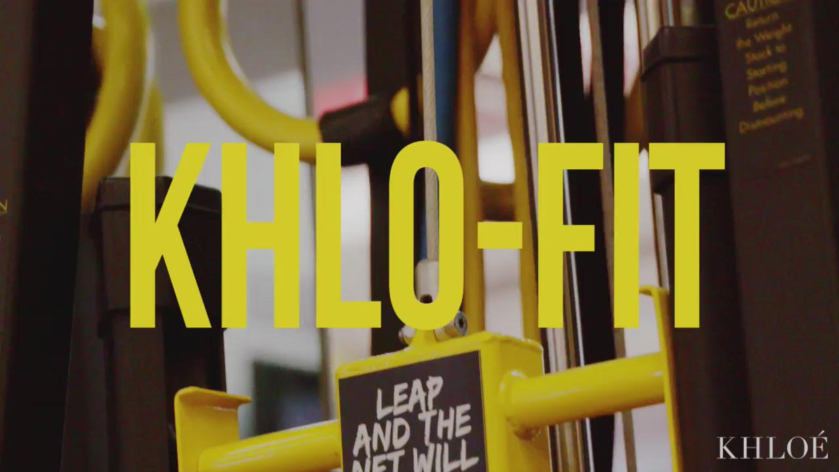It's time for another KHLO-FIT, dolls!!! Workout w/ me & Gunnar today on my app!! http://t.co/hkXbCz288F http://t.co/zc3mlTPCrx