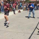 This dance battle lit af 🔥😭  http://t.co/Ue5hplv1Rk