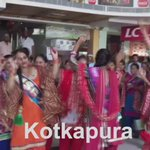Fans are drenched in blissful shower of craze in Kotakpura. Fantastic celebrations for #MSG2WorldRecord! http://t.co/RwGCJGFKaz