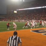 #Illini TD gives the home crowd something to cheer about. #Illini win, 14-13. http://t.co/sGkEN8HVQb