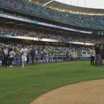 .@RealMiguelCotto with tonights first pitch to @kikehndez. ???????? http://t.co/s0fS43MDmd