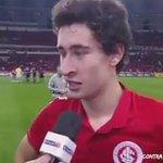 Rodrigo Dourado dedicando o gol contra o Sport pro sempre eterno ídolo Fernandão F9 http://t.co/xsCfw4xVT1