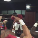 """Whose house? C-House!"" #LockerRoom #GoStanford #BeatZona @RonnieGuruH http://t.co/PXbfkYIInt"