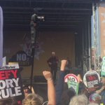 Rousing stuff from @billybragg at #TakeBackMCR #takebackMCR ????????????❤️ @pplsassembly http://t.co/fuigXTqJf1