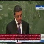 وزير خارجية #الامارات الشقيقة: #ايران غير مؤهلة للحديث عن سلامة الحج وسنقف مع #السعودية ضد تدخل ايران بالدول العربية http://t.co/sbnC4OI7pf