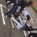 All You Hear In London Fights Is Mandem Screaming Oh Shit 😂 http://t.co/tgSg7tq3pQ