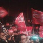 """.@clergeau ovationné qui arrive sur scène au son de """"Clergeau, président"""". En avant! #TousAvecClergeau #PDL2015 http://t.co/NHDIEK2515"""