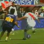 Superclásico, el día del caño de Ortega a Paletta, que viva el fútbol. https://t.co/sPl8BdBXwn