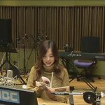 151008 Taeyeon comes in then gives her album.Sunny is laughing so hard when look Taes photocard #snsd #sunnyfmdate http://t.co/pCkh6fpCXB