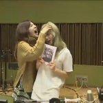 151008 Sunny FM Date ending with Taeyeon. Cuteee ????????. Dandyu choke and eat each other, thats friend http://t.co/o3jbxiCDcm