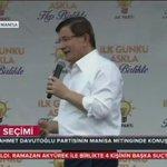 """Davutoğlunun Mitinginde Bir Çocuk Kameraya """"NAH"""" Çekti. Nah İktidar Olursunuz Mu Demek İstedi ? ???? @MetinUca http://t.co/ND11BJGYSu"""