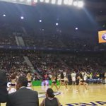 En Boston todo es bueno... Las Celtics Dancers a escena. #NBAMadrid http://t.co/6jjZdMmlpU
