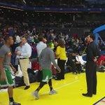 Los Celtics han salido igual de finos de lo que acabaron la primera parte. Difícil tarea para el Madrid. #NBAMadrid http://t.co/bQf4DMcw2D