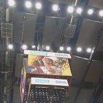 Que sería de un partido NBA sin la Kiss Cam. #NBAMadrid http://t.co/jebdRXQzAx