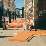 boom! #YQR deployment of #OrangeCrush for #UrbanityOpenAir crushing it with @OPEN_SK http://t.co/jKAyXPDwTL